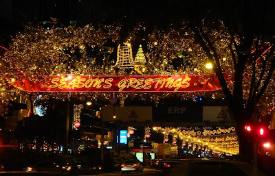 Orchard Road: Celebrations hub in Singapore within access from the Claremont Hotel in Singapore