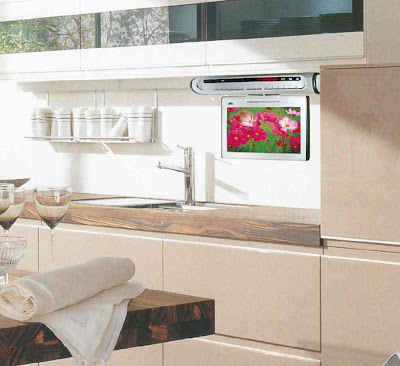 kitchen lcd tv s ideas kitchen under cabinet tv s