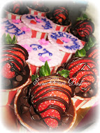 Cupcake Strawberry (ganache)