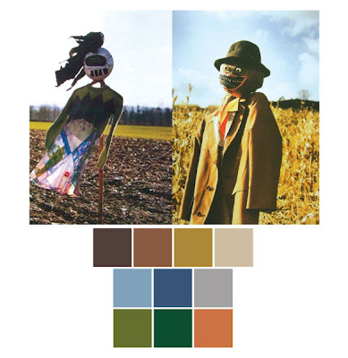 men s wear 허수아비 color palette
