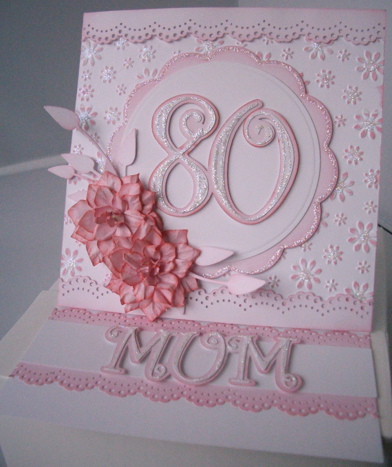 Julies Inkspot 80th Birthday Card – 80th Birthday Cards