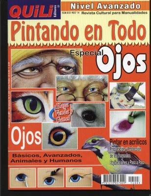 Revistas de Manualidades Para Descargar: Quili Pintando en Todo