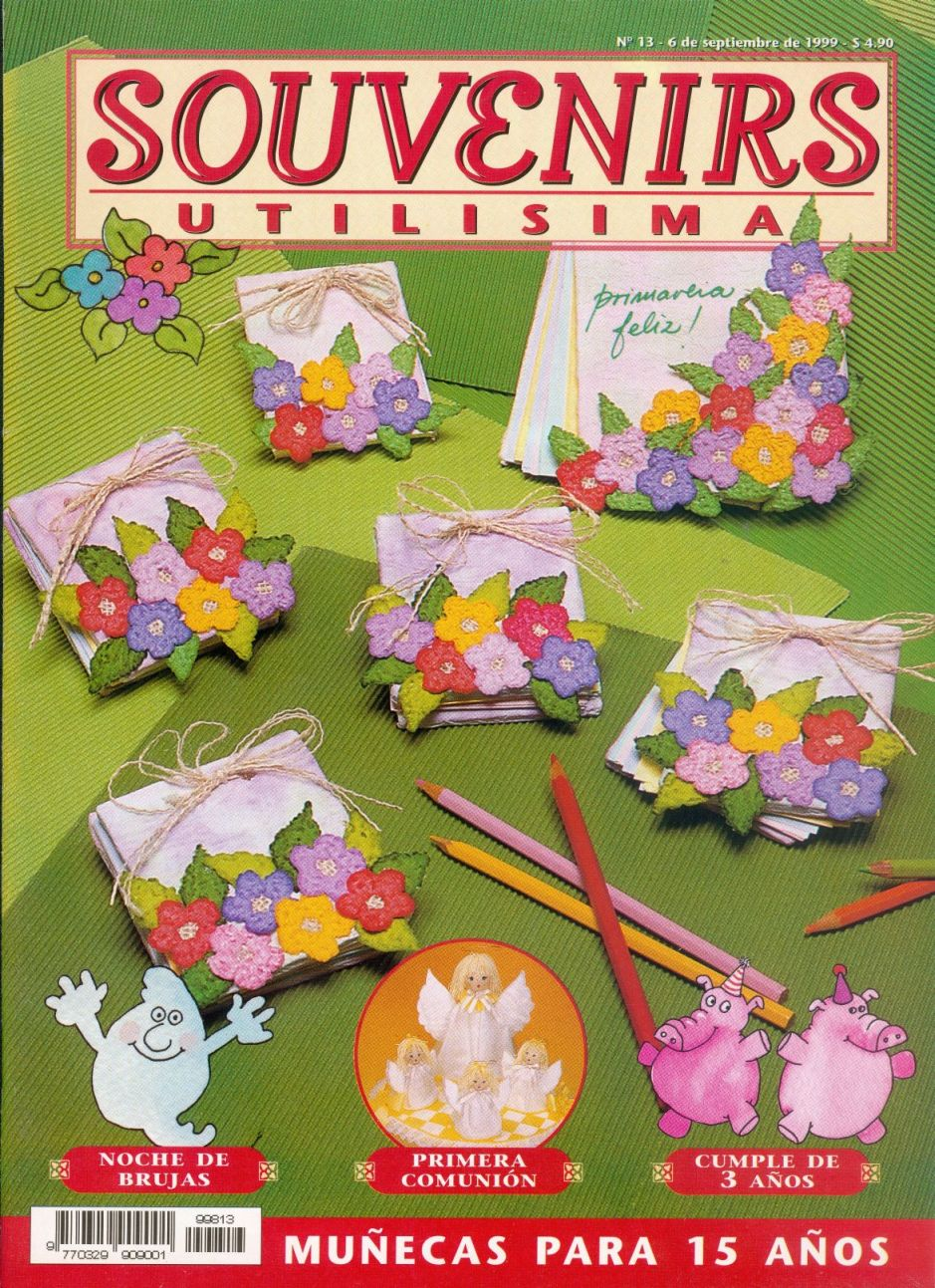 Revistas de manualidades para descargar souvenirs utilisima Utilisima decoracion