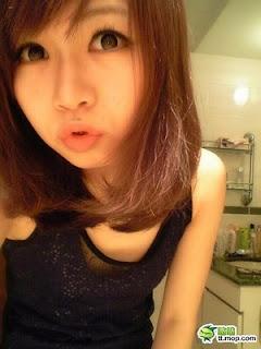 上海師大鋼牙妹美女3