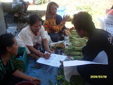 Sosialisasi Mencontreng di Pasar Labocca Bantaeng
