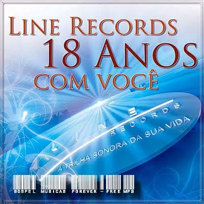 Coletânea - Line Records 18 Anos Com  Você - 2010