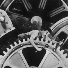 """""""Tiempos Modernos"""", Chaplin"""