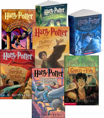 The Harry Potter books are a popular series of fantasy