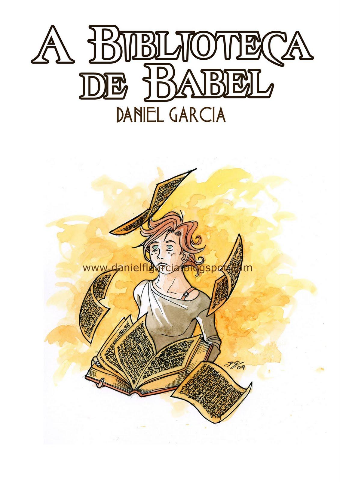 DANIEL GARCIA Graphic Art: A Biblioteca de Babel - Versão