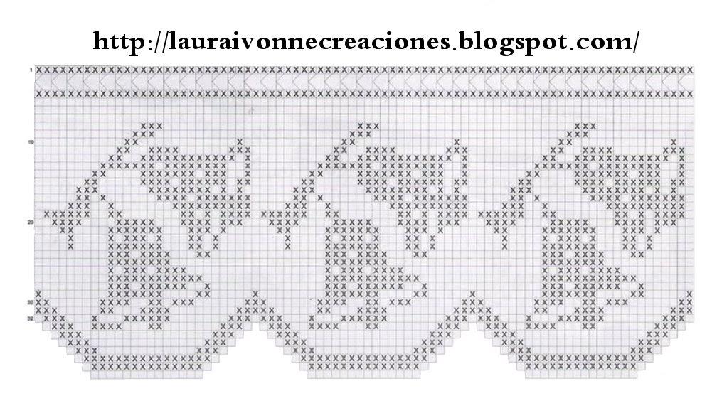 Laura Ivonne Creaciones: Viernes del Filet: Otras lindas ideas con ...