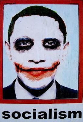 Barack Obama Sozialismus Joker Poster