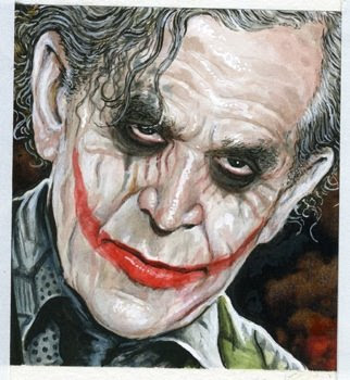 George Bush als Joker