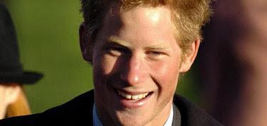 Prinz Harry lächelnd