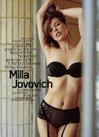 Milla Jovovich Maxim Cover