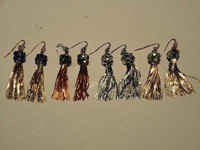 diy your own tassel earrings!