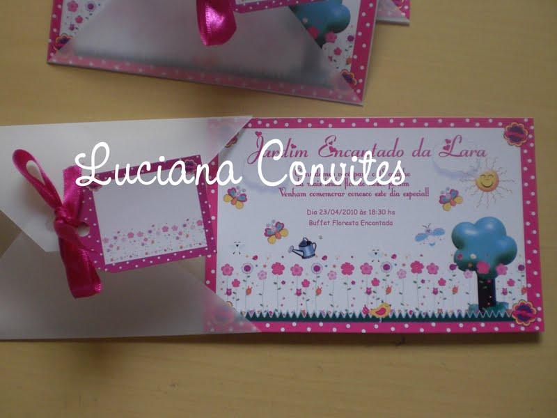 Postado por Luciana Convites Infantis Temáticos às 15:44