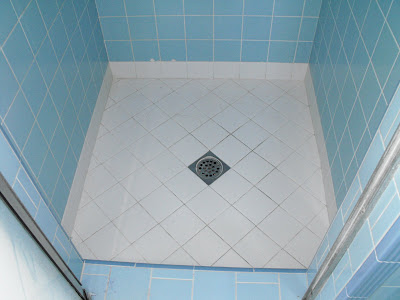 New home construction 1930 39 s bathroom with white subway for 1930s tile floor