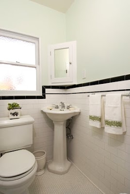 Good Home Construction's Renovation Blog: 1930's Bathroom with White ...