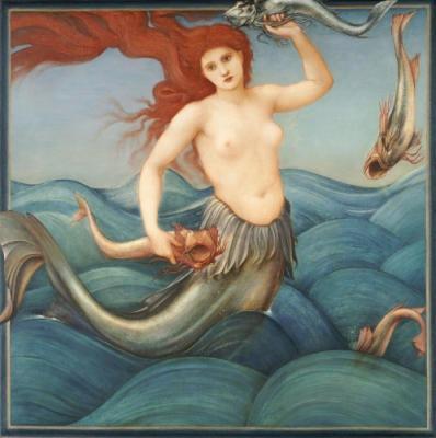 Ninfa marina. Sir Edward C. Burne-Jones