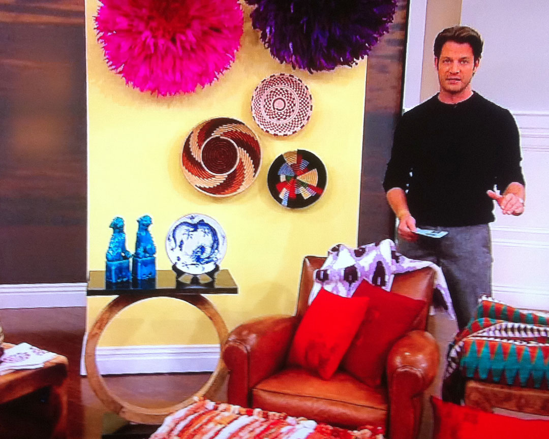 The Nate Berkus Show: Blue Dragon Tin Plates | Mottahedeh, Milestone ...