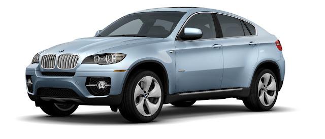 new BMW active hybrid X6