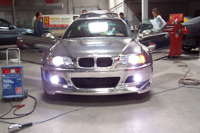BMW M3 E46 Chrome well done!