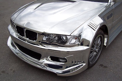 BMW M3 E46 Chrome zoom view