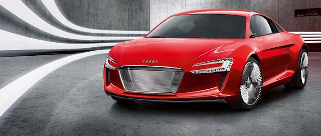 Frankfurt showcar Audi e-tron