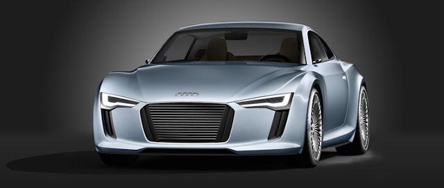 Detroit showcar Audi e-tron
