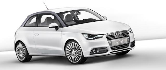 Audi concept A1 e-tron