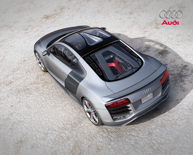 Audi R8 desktop photo