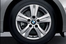 BMW light-alloy wheels double-spoke 222