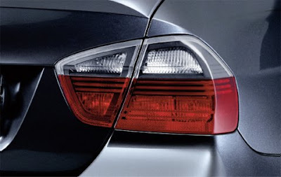 BMW Dark line rear light
