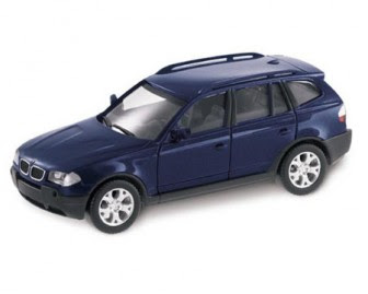 miniature BMW X3 Mystic Blue