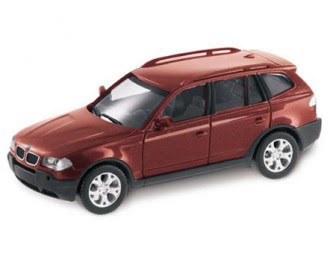 miniature BMW X3 Flamenco Red