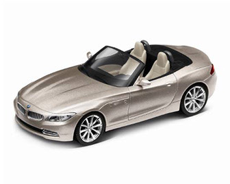 Roadster BMW Z4 Orion silver miniature