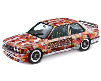 Art Car Michael J. Nelson BMW M3 1989 miniature