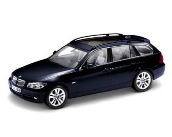 BMW E91 Monaco Blue miniature