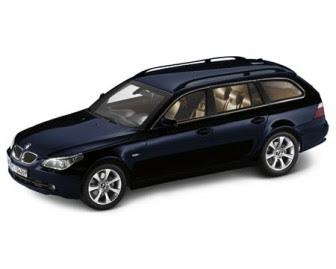 BMW 5 Touring Orient Blue miniature