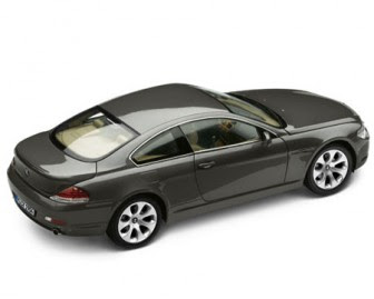 BMW 6 Coupé Grey miniature