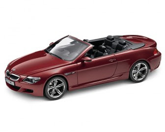 BMW E64 red miniature
