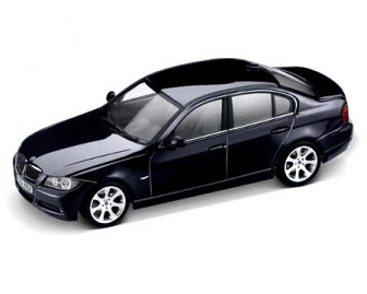 BMW 3 Series E90 blue miniature