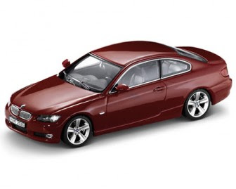 BMW 3 E92 Red miniature