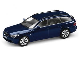 BMW 5 Touring Blue miniature