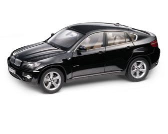 BMW X6 E71 Black miniature