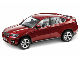 BMW X6 xDrive 50i E71 Red miniature