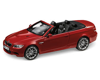 BMW E93M Convertible Red miniature