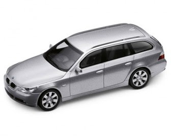 BMW 5 Series touring Titanium Silver miniature