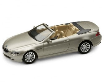 BMW 6 Series Mineral Silver miniature