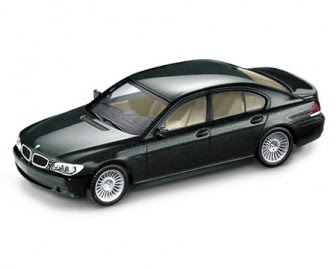 BMW 7 Series LCI E65 Green miniature